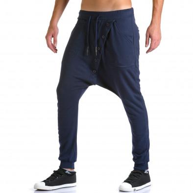 Pantaloni baggy bărbați Devil Slayer albaștri ca260815-24 4