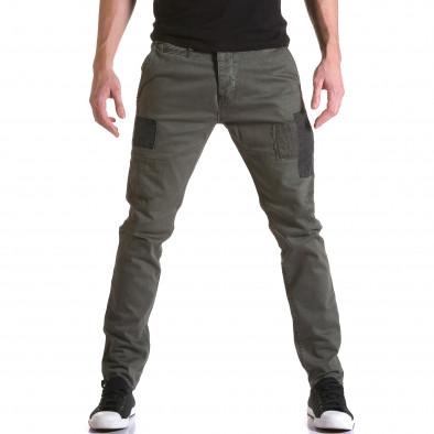 Pantaloni Y-Two verzi bărbați it031215-17 2