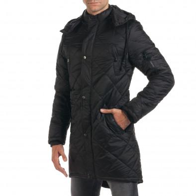 Geacă de iarnă bărbați Maximal neagră it190616-9 4