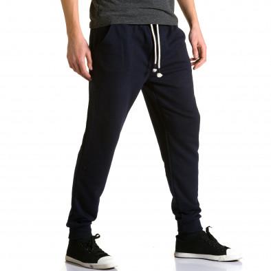 Pantaloni baggy bărbați Enos albaștri ca190116-32 4