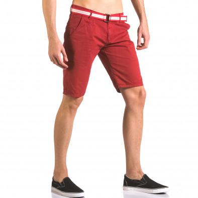 Pantaloni scurți bărbați Top Star roșii ca050416-67 4