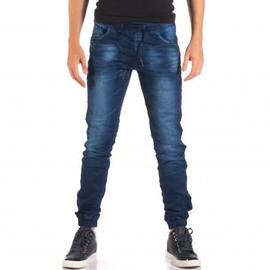 Blugi bărbați Flex Style albaștri it150816-28 2