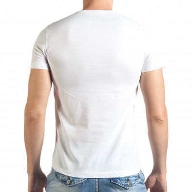Tricou bărbați Just Relax alb il140416-26 3