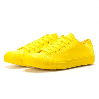 Teniși galbeni pentru bărbați it260117-39 3