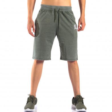 Pantaloni scurți bărbați Marshall verzi it160616-2 2