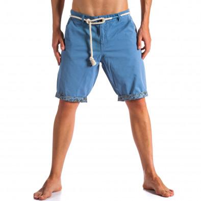 Pantaloni scurți bărbați Tony Moro albaștri ca090514-8 3
