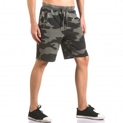 Pantaloni scurți bărbați Top Star camuflaj ca050416-46 4