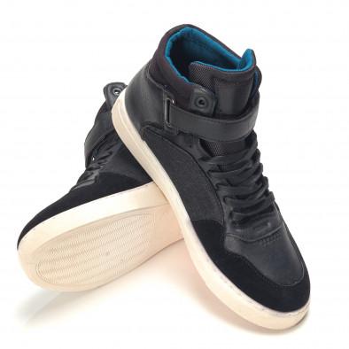 Pantofi sport bărbați Reeca negri it100915-20 4