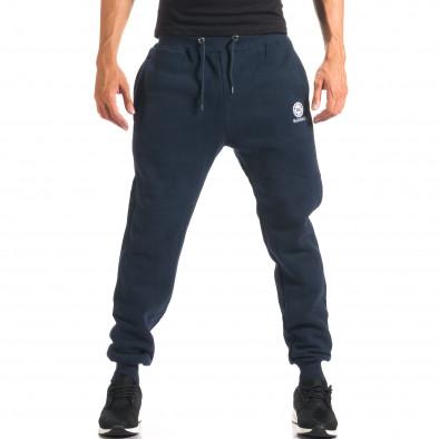 Pantaloni sport bărbați Marshall albastru it160816-17 4
