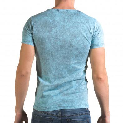 Tricou bărbați Lagos albastru il120216-15 3
