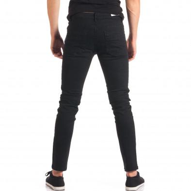 Pantaloni bărbați G-9 negri it150816-3 3