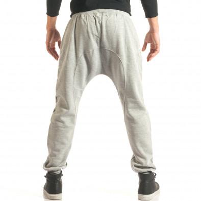 Pantaloni baggy bărbați The Power gri it181116-46 3