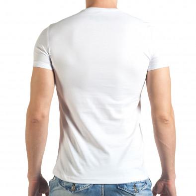 Tricou bărbați Just Relax alb il140416-44 3
