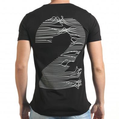 Tricou bărbați Eksi negru il140416-2 3