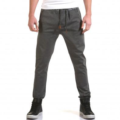 Pantaloni bărbați Jack Berry gri it090216-29 2