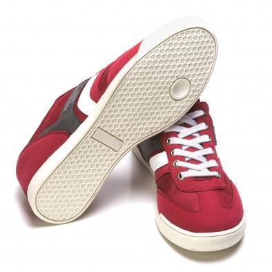 Pantofi sport bărbați Marshall roșii it110316-98 4