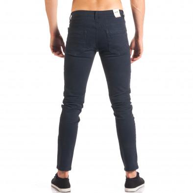 Pantaloni bărbați G-9 albaștri it150816-2 3