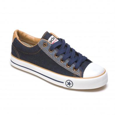 Pantofi sport bărbați Maideng albaștri 110416-3 3