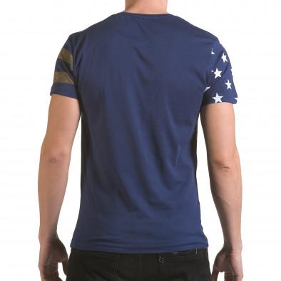Tricou bărbați Franklin albastru il170216-10 3