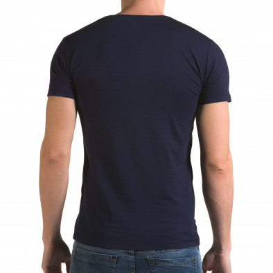 Tricou bărbați Lagos albastru il120216-28 3