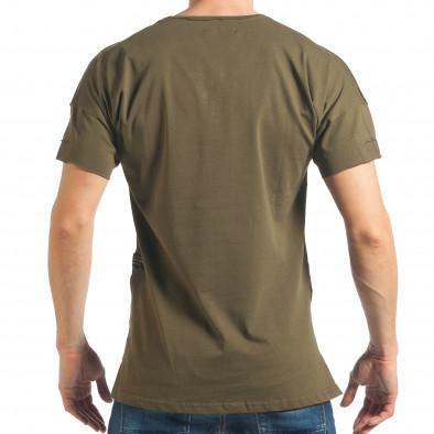 Tricou bărbați Breezy verde tsf020218-14 3