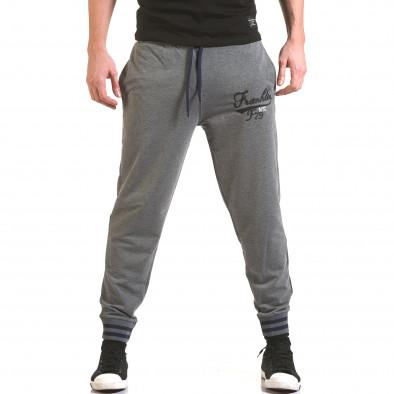 Pantaloni bărbați Franklin gri il170216-136 2