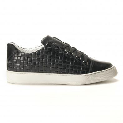 Teniși bărbați Shoes in Progress negri it100317-19 3