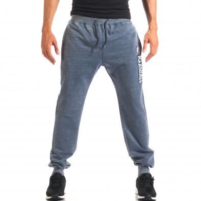 Pantaloni bărbați Marshall albastru it160816-14 4