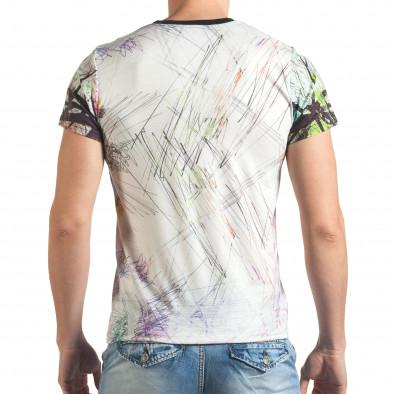 Tricou bărbați Black Edition alb tsf140416-70 3