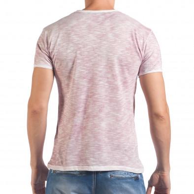 Tricou bărbați Lagos roz il060616-41 3