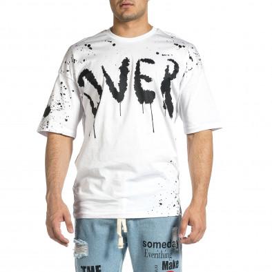Tricou bărbați Breezy alb tr150521-9 3