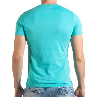 Tricou bărbați Just Relax albastru il140416-48 3