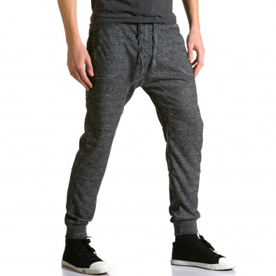 Pantaloni baggy bărbați Dress&GO gri ca190116-29 4