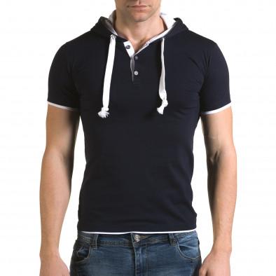 Tricou bărbați Lagos albastru il120216-59 2
