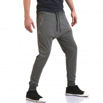 Pantaloni baggy bărbați Belmode gri it090216-41 4