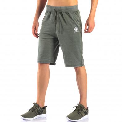 Pantaloni scurți bărbați Marshall verzi it160616-2 4