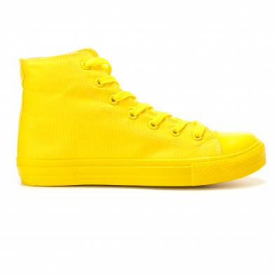 Teniși înalți galbeni pentru bărbați it260117-36 2
