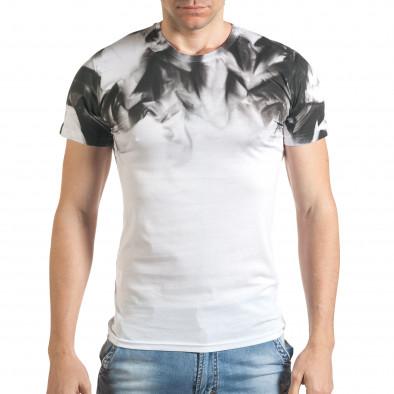 Tricou bărbați Blitz alb tsf140416-73 2