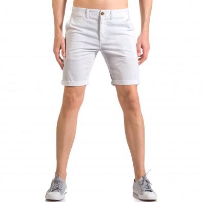 Pantaloni scurți bărbați XZX-Star albi ca050416-62 2