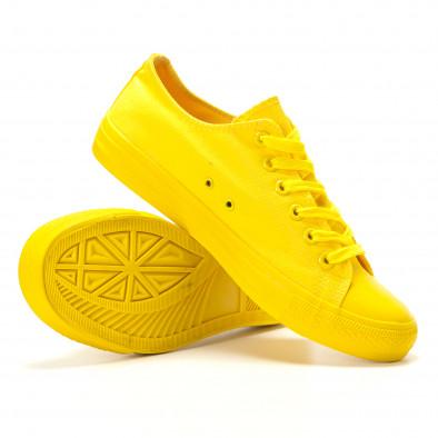 Teniși galbeni pentru bărbați it260117-39 4