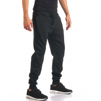 Pantaloni bărbați Marshall negru it160816-11 4