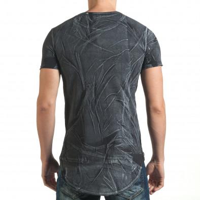 Tricou bărbați Millionaire negru il140416-16 3