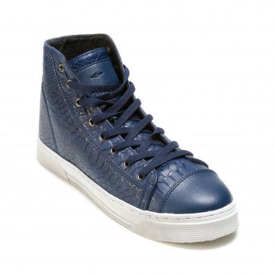 Pantofi sport bărbați Niadi albaștri it100915-6 3