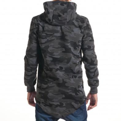Hanorac bărbați New Black camuflaj it240816-72 3