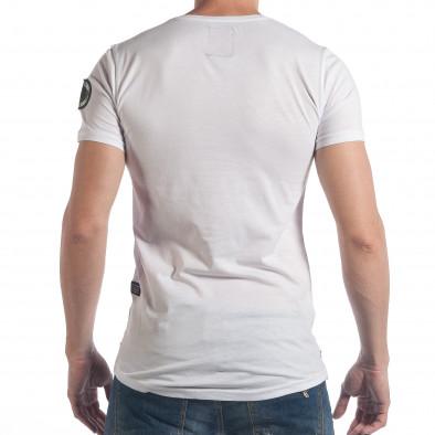 Tricou bărbați Breezy alb tsf140617-2 3