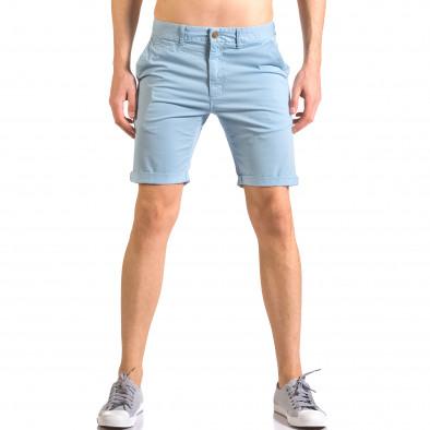 Pantaloni scurți bărbați XZX-Star albaștri ca050416-61 2