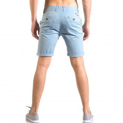 Pantaloni scurți bărbați XZX-Star albaștri ca050416-61 3