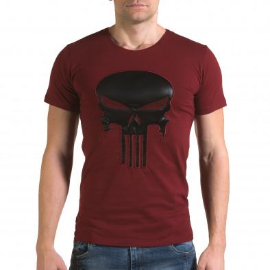 Tricou bărbați Lagos roșu il120216-27 2