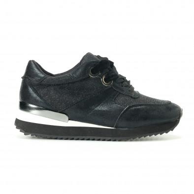 Pantofi sport de dama Melissa neagră it200917-24 2