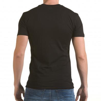 Tricou bărbați SAW negru il170216-42 3